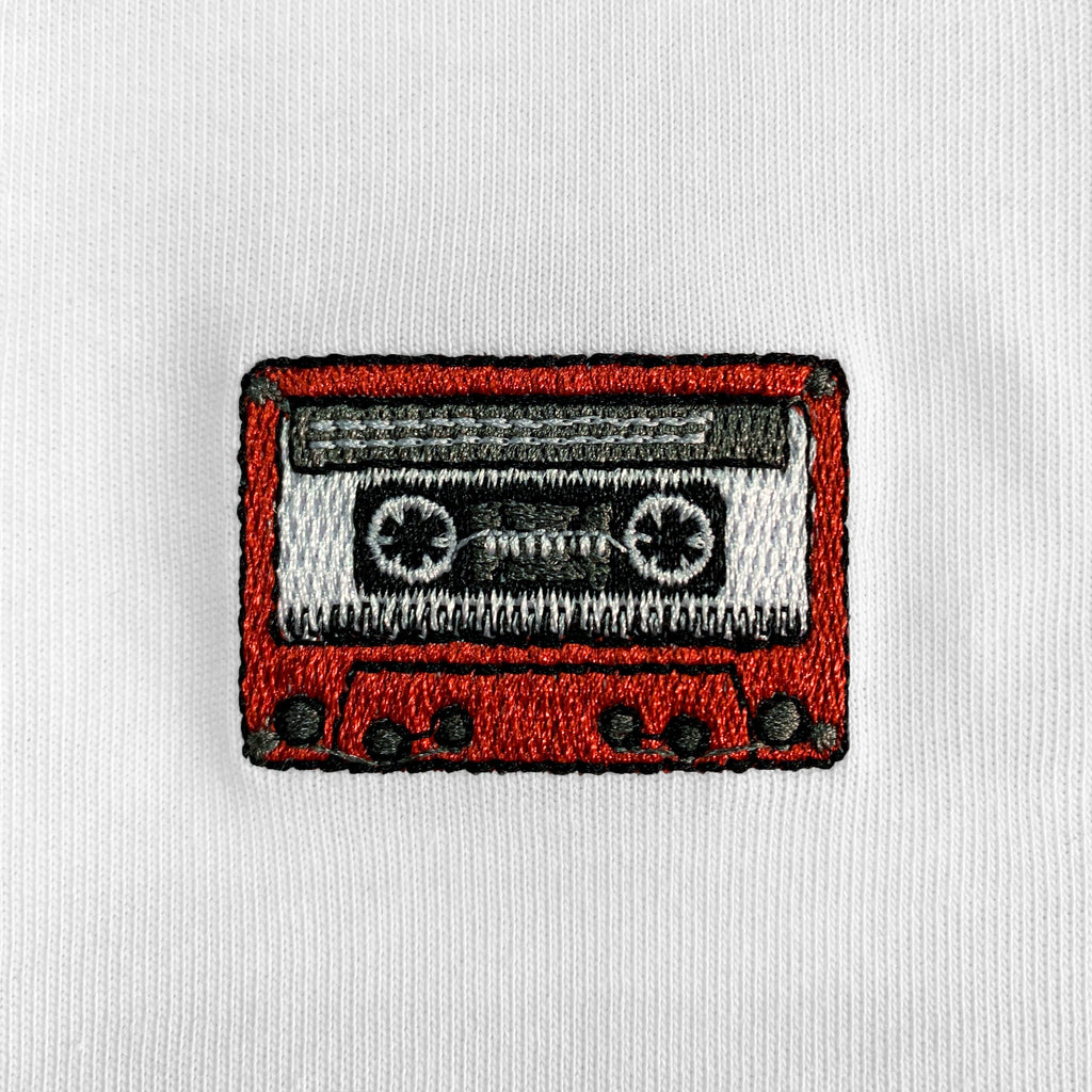 Cassette Embroidered Oversized T-Shirt