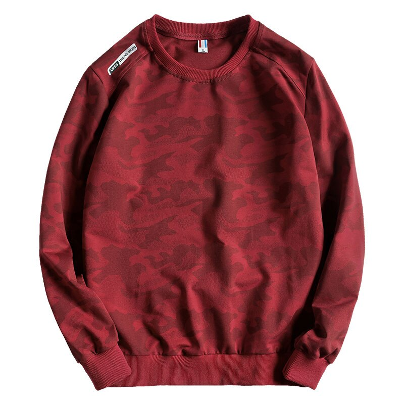 Camouflage Patterned Sweatshirt