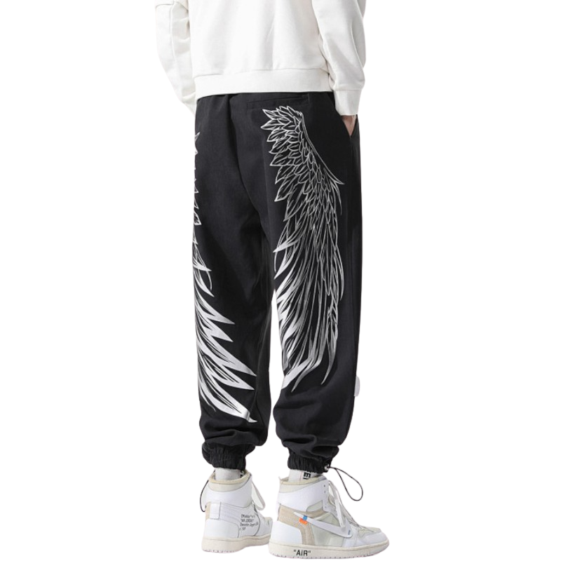 Wing Patterned Pants