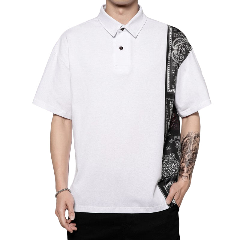 Loose Fit Polo Shirt