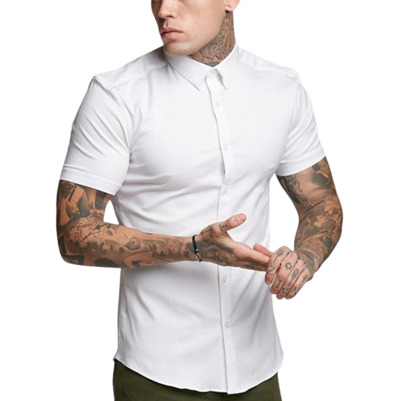Slim Fit Button Down Shirt