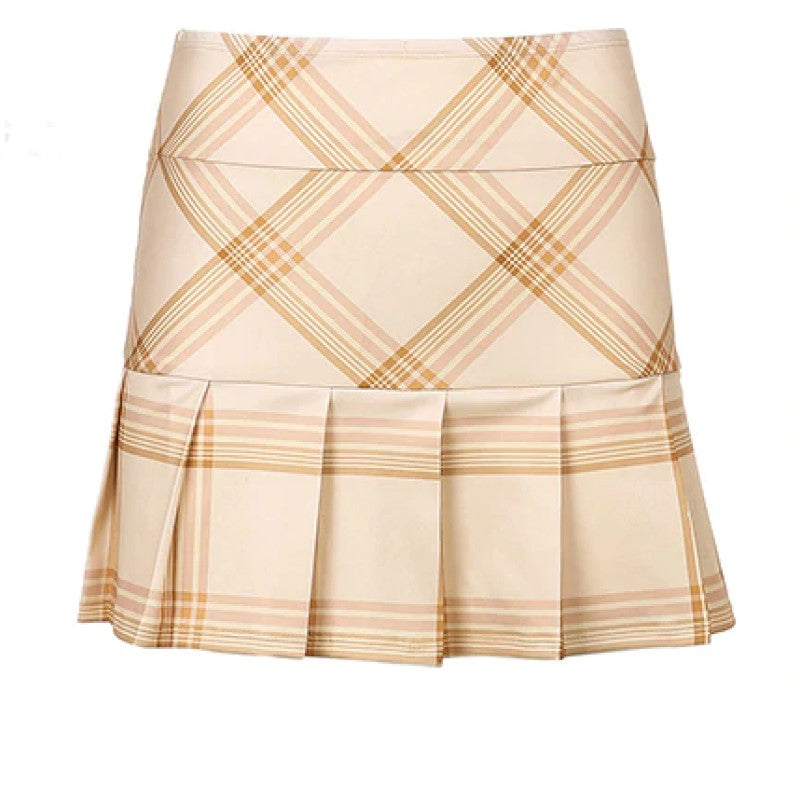 Cute Pleated Mini Skirt