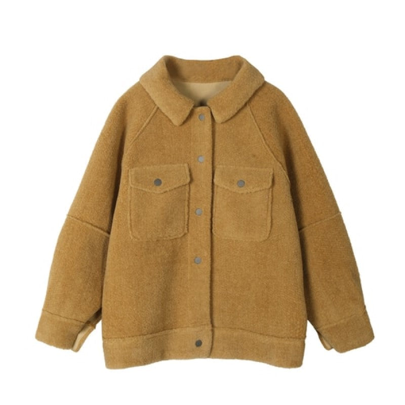 Loose Warm Woman Jacket