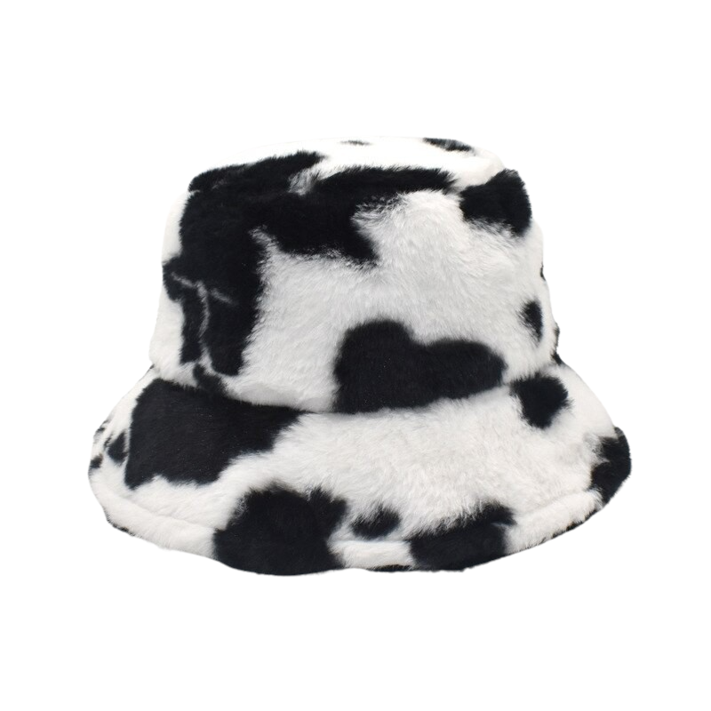 Cow Printed Hat