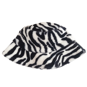 Zebra Printed Hat