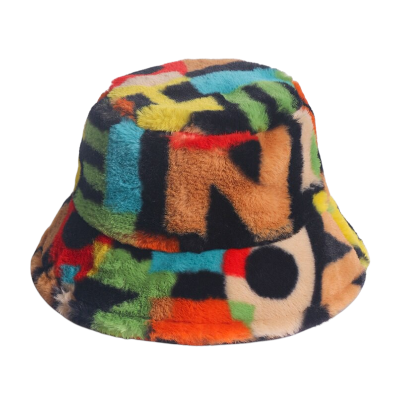 Colorful Printed Hat