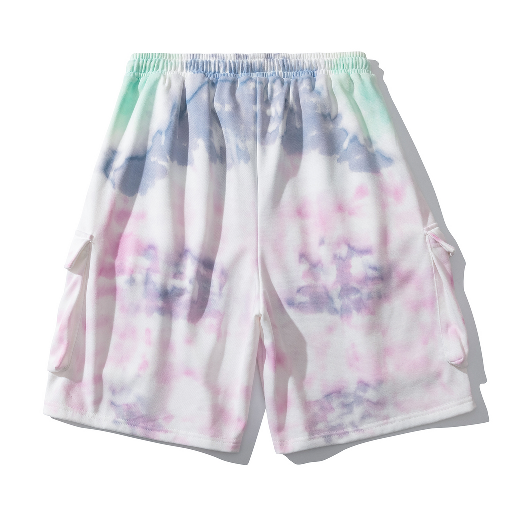 Light Tie Dye Shorts