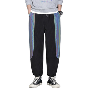 Reflective Harem Pants