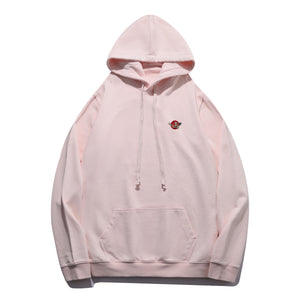Koi Fish Embroidered Hoodie