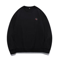 B&R Skull Embroidered Oversized Sweatshirt