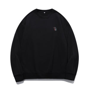 B&R Hand Embroidered Oversized Sweatshirt