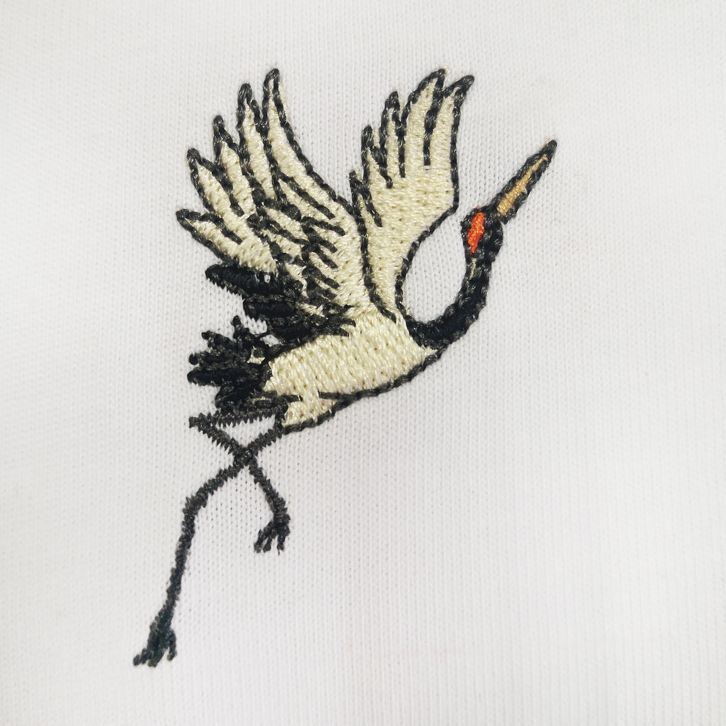 Heron Embroidered Oversized Sweatshirt