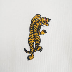 Tiger Embroidered Oversized Sweatshirt