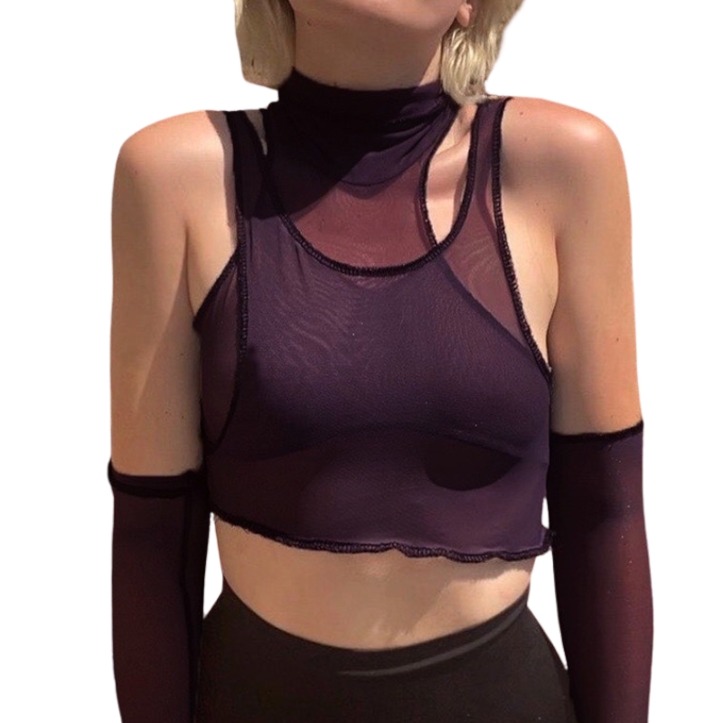 See Through Tank Top