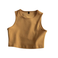 Urban Elastic Sleeveless Top