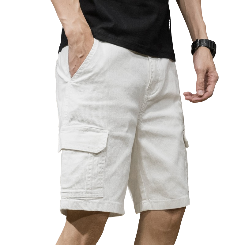 Trendy Cotton Cargo Shorts