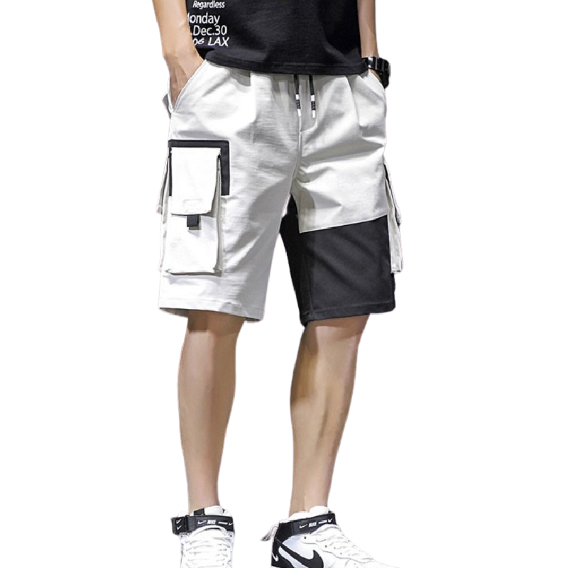 Multi Pocket Baggy Shorts