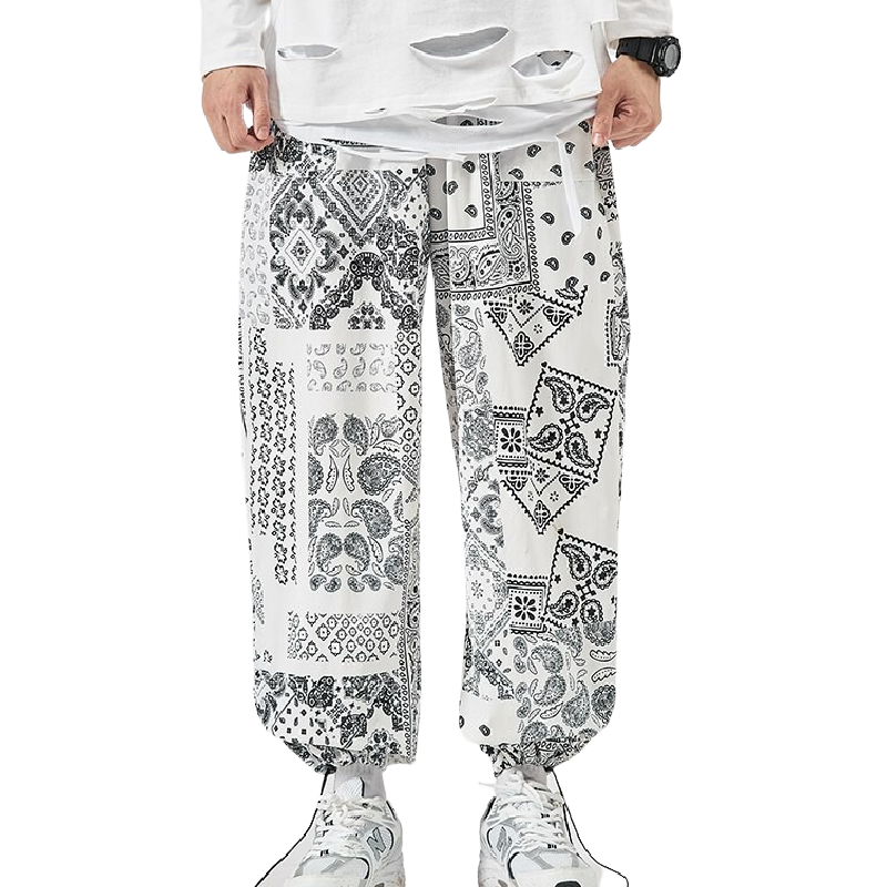 Baggy Printed Joggers