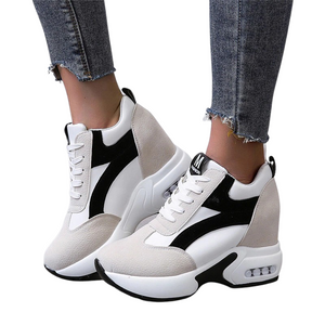 High Leather Sneakers
