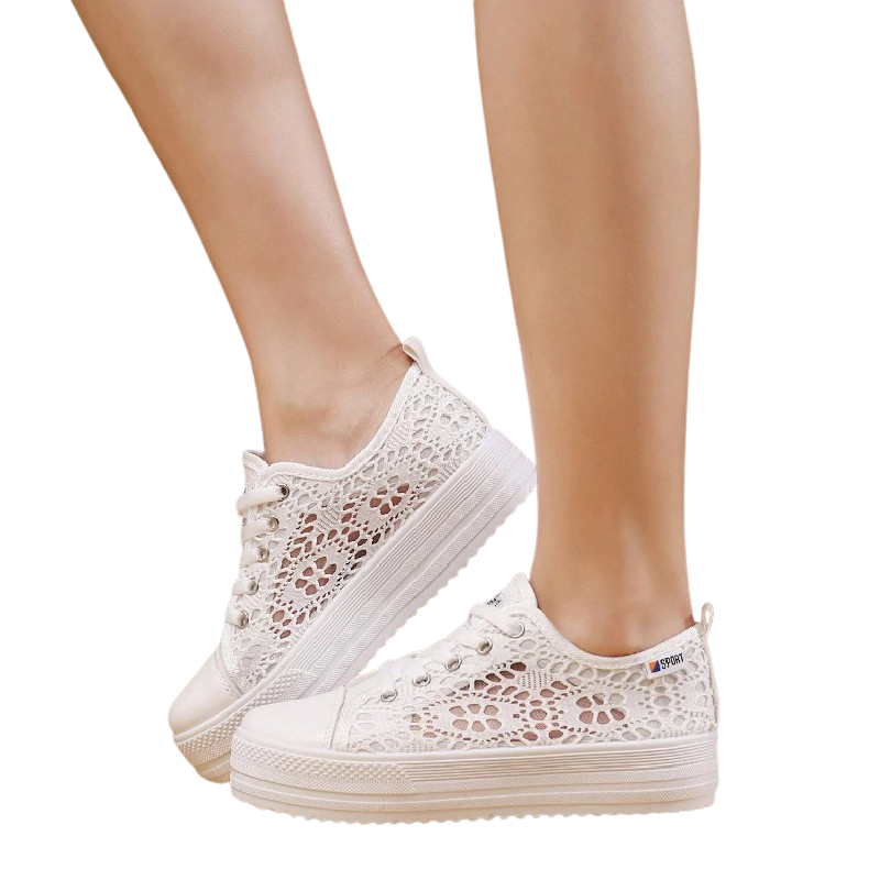 Lace Canvas Sneakers