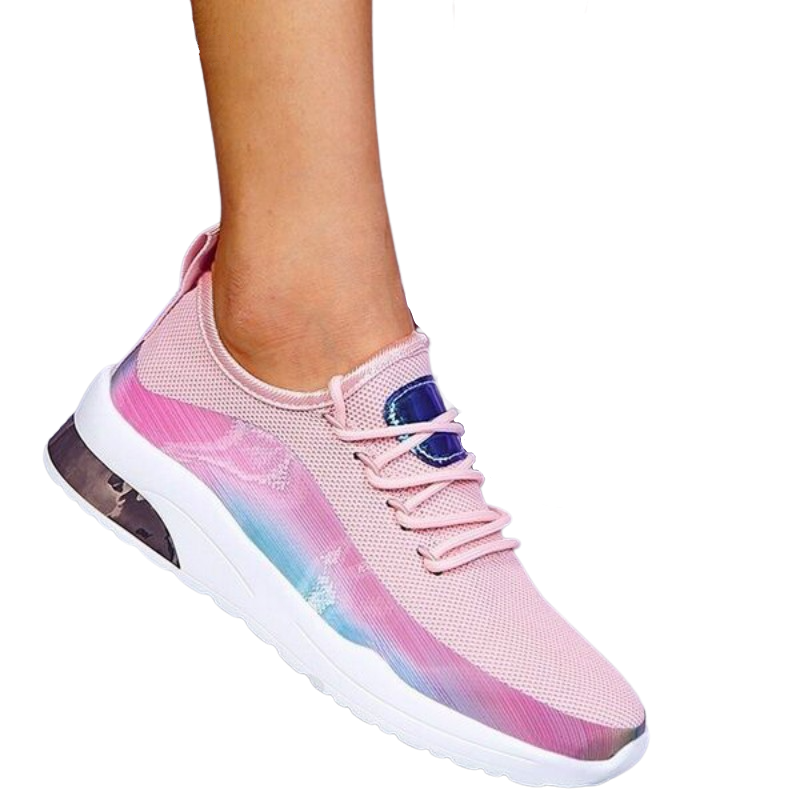 Colorful Lace Up Sneakers