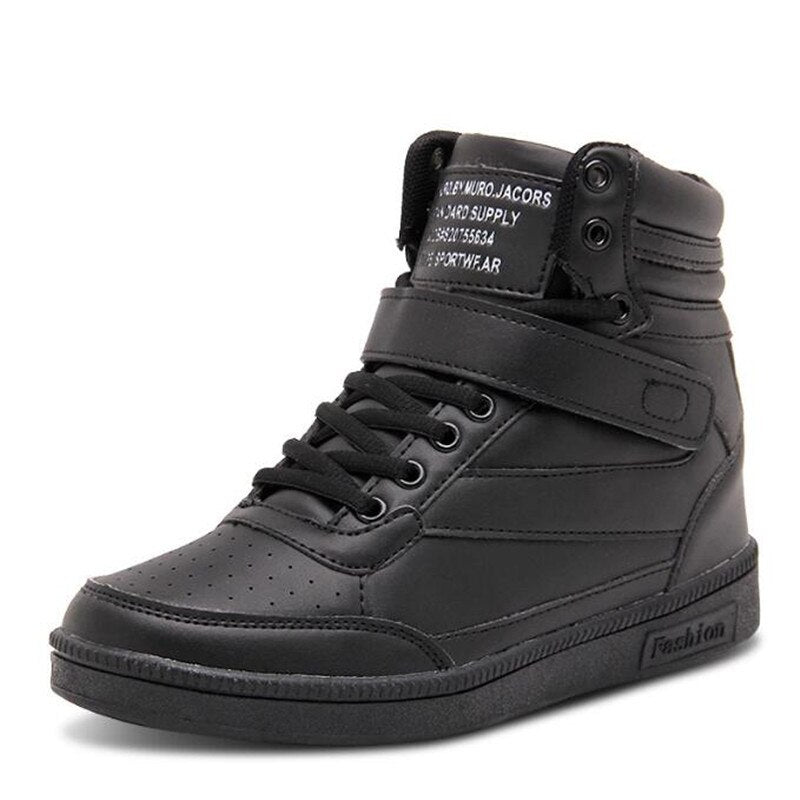 High Top Leather Boots