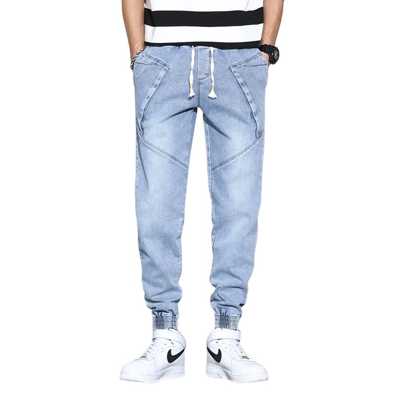 Ankle-Length Baggy Jeans
