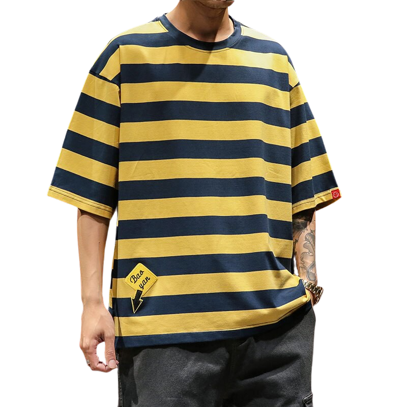 Striped Oversized T-Shirt