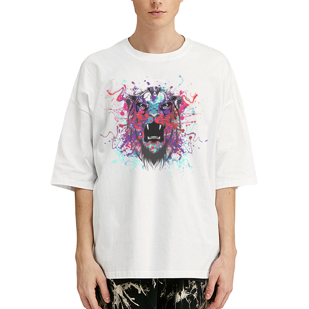 Furious Tiger Oversized T-Shirt