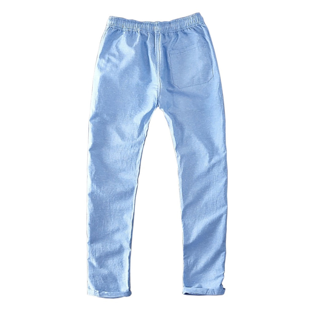 Breathable Linen Blend Pants