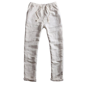Breathable Summer Linen Blend Pants