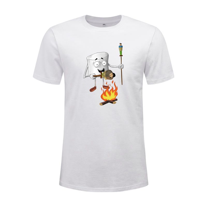 Shifted Marshmallow T-Shirt