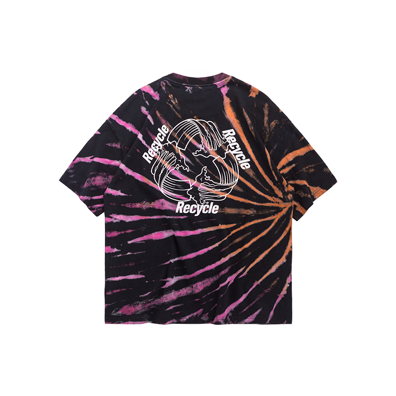 Sunset Rotation Tie Dye T-Shirt