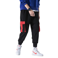 Casual Tapered Drawstring Joggers