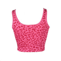 Colorful Leopard Print Tank Top
