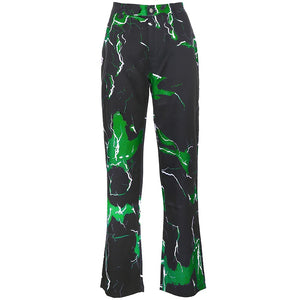 Colorful Lightning Pants