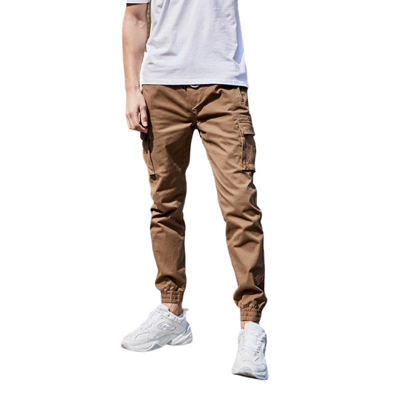 Multi Pocket Casual Pants