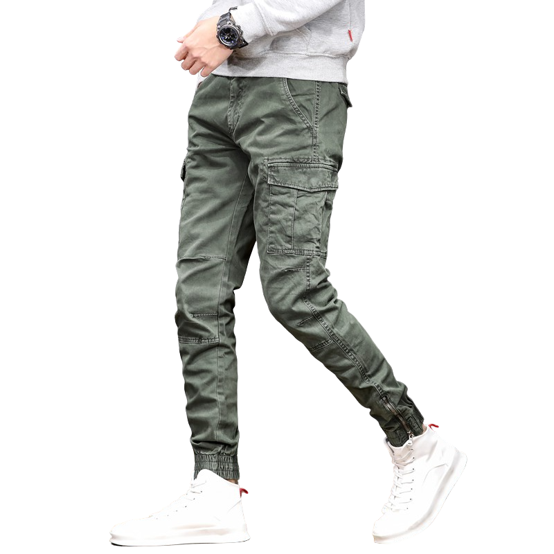 Slim Fit Autumn Pants