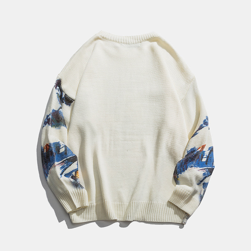 Traditional Knitted Sweatshirt