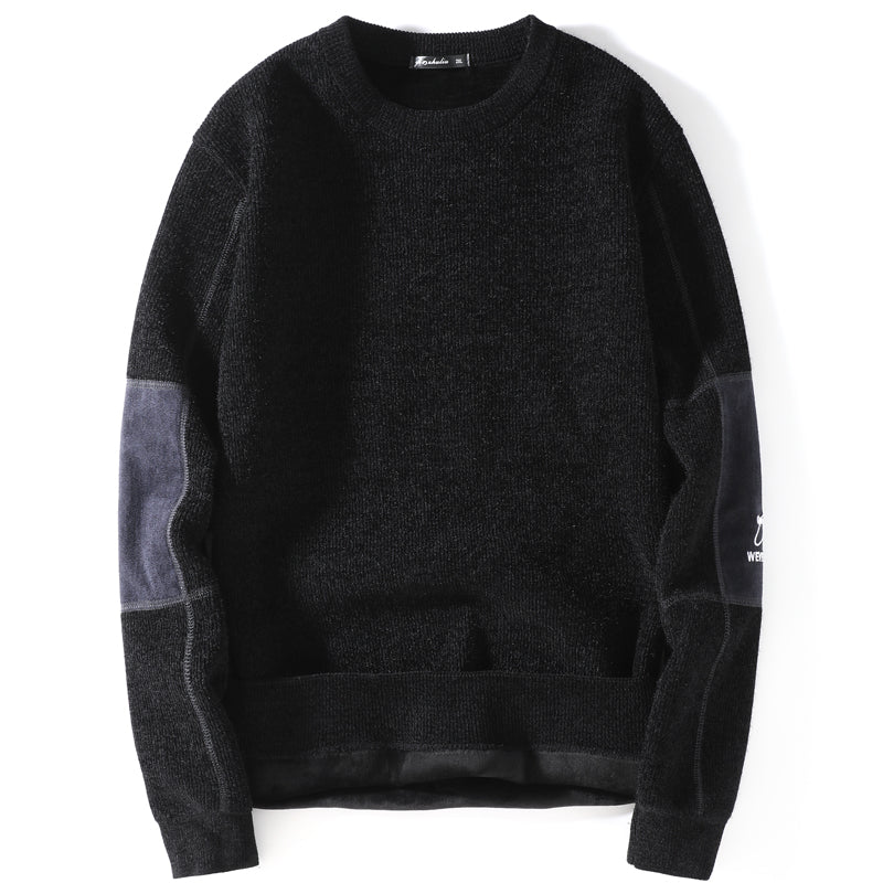Thick Classic Knitted Sweatshirt