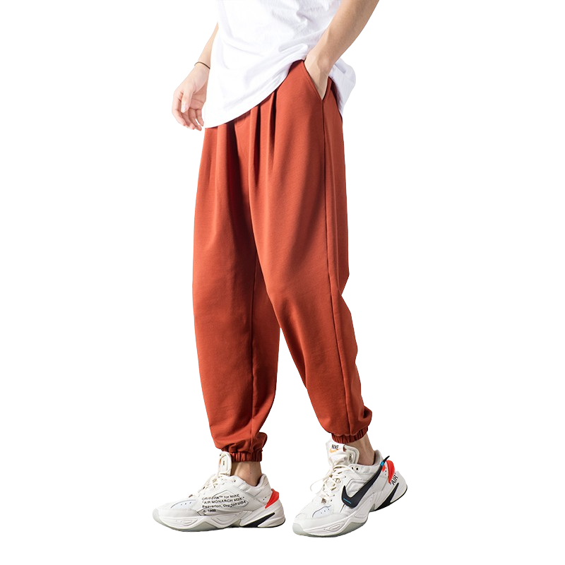 Casual Baggy Drawstring Joggers