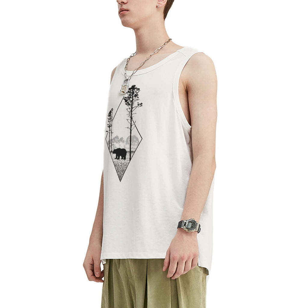 Bear Oversized Tank Top