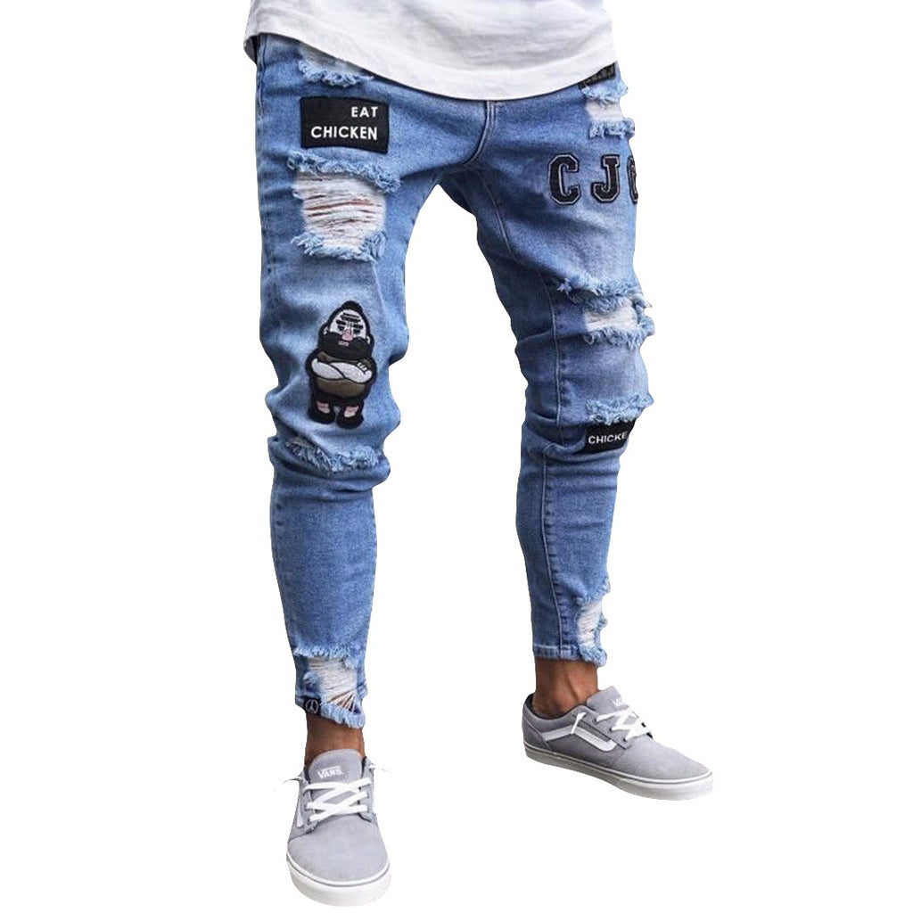 High Detailed Slim Fit Jeans