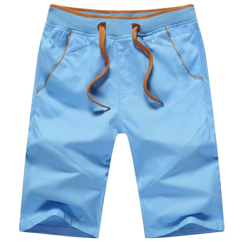 Cotton Mid Length Shorts