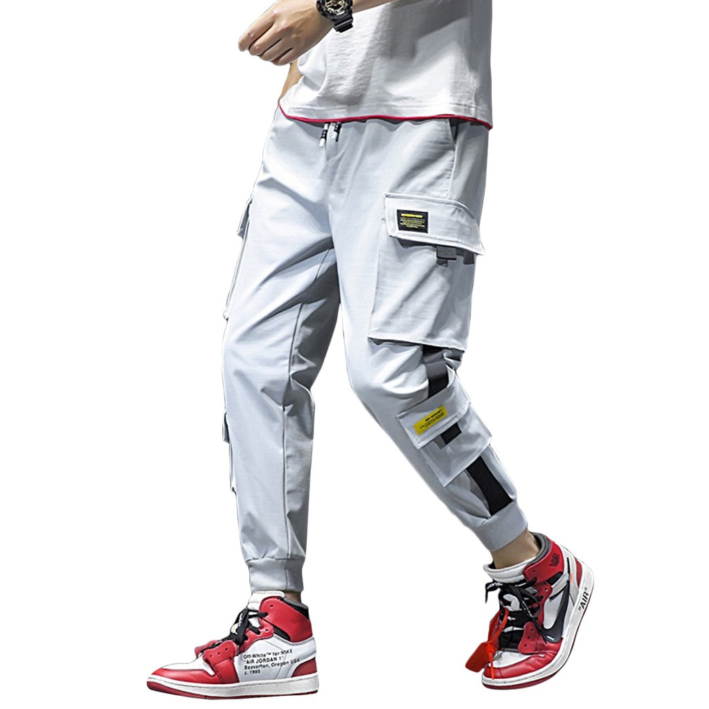 Casual Tapered Cargo Joggers