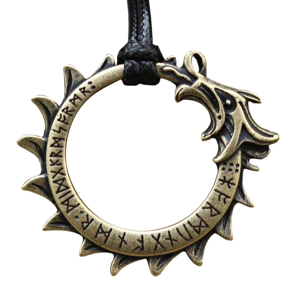 Nordic Dragon Necklace