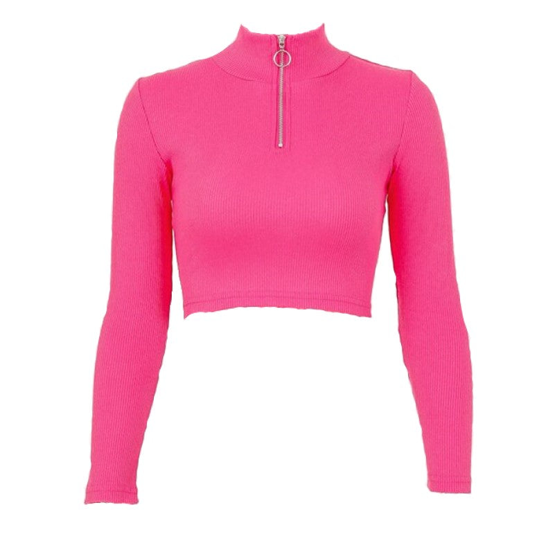 Women's Zipper Sweatshirt