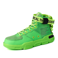 High Top Fashionable Sneakers