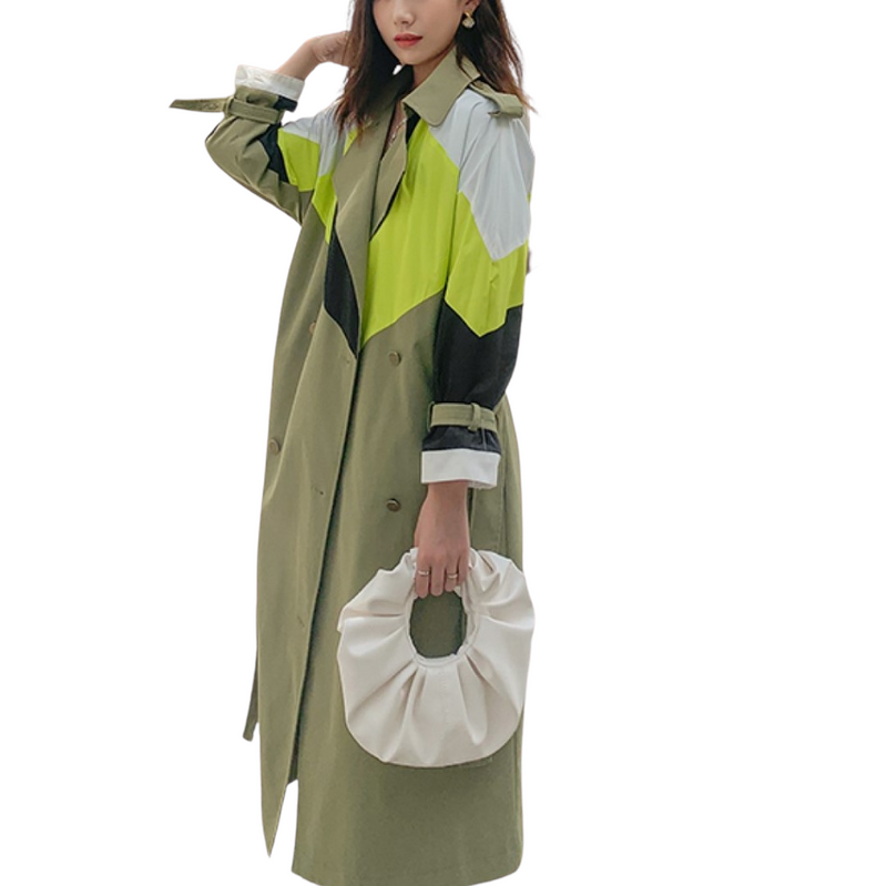Windproof Trench Jacket