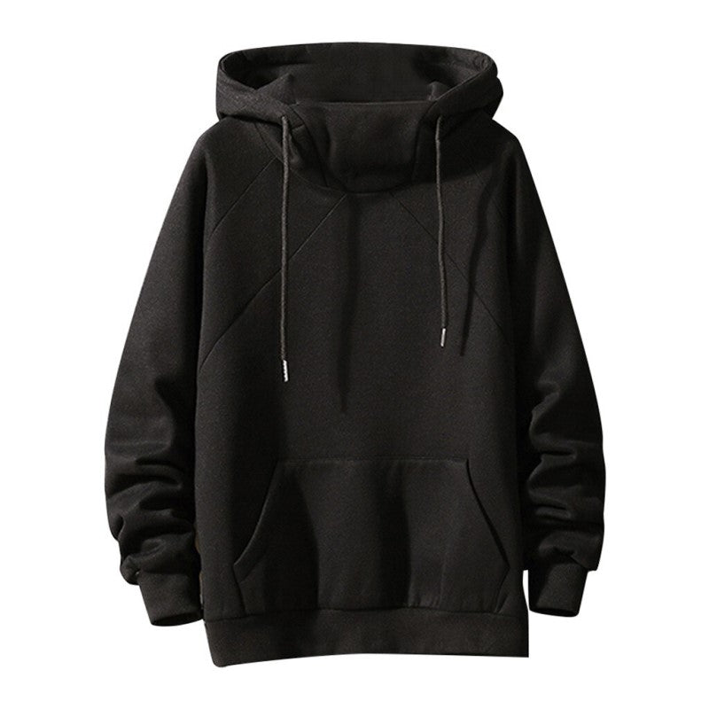 Warm High Neck Hoodie